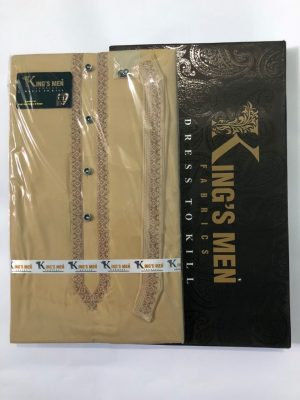 brown-wash-and-wear-shalwar-kameez-unstitched-by-kings-men