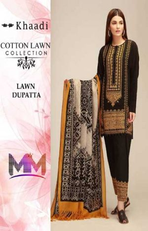 Khaadi Cotton Lawn Suit Summer Collection